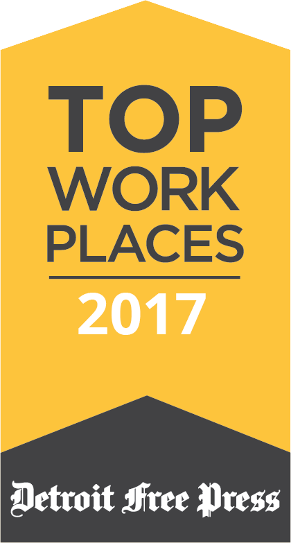 Detroit Free Press Top Workplaces 2017