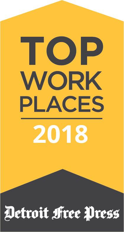 Detroit Free Press Top Workplaces 2018